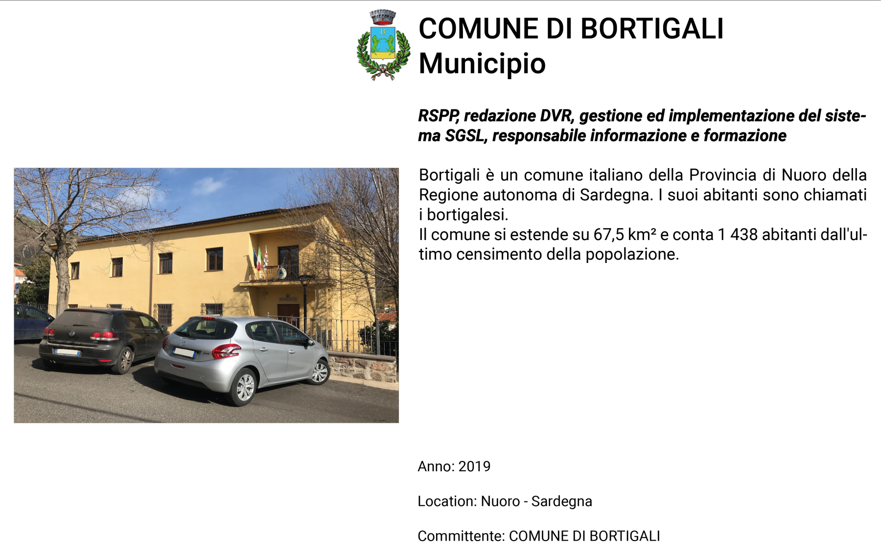 Bortigali-Municipio
