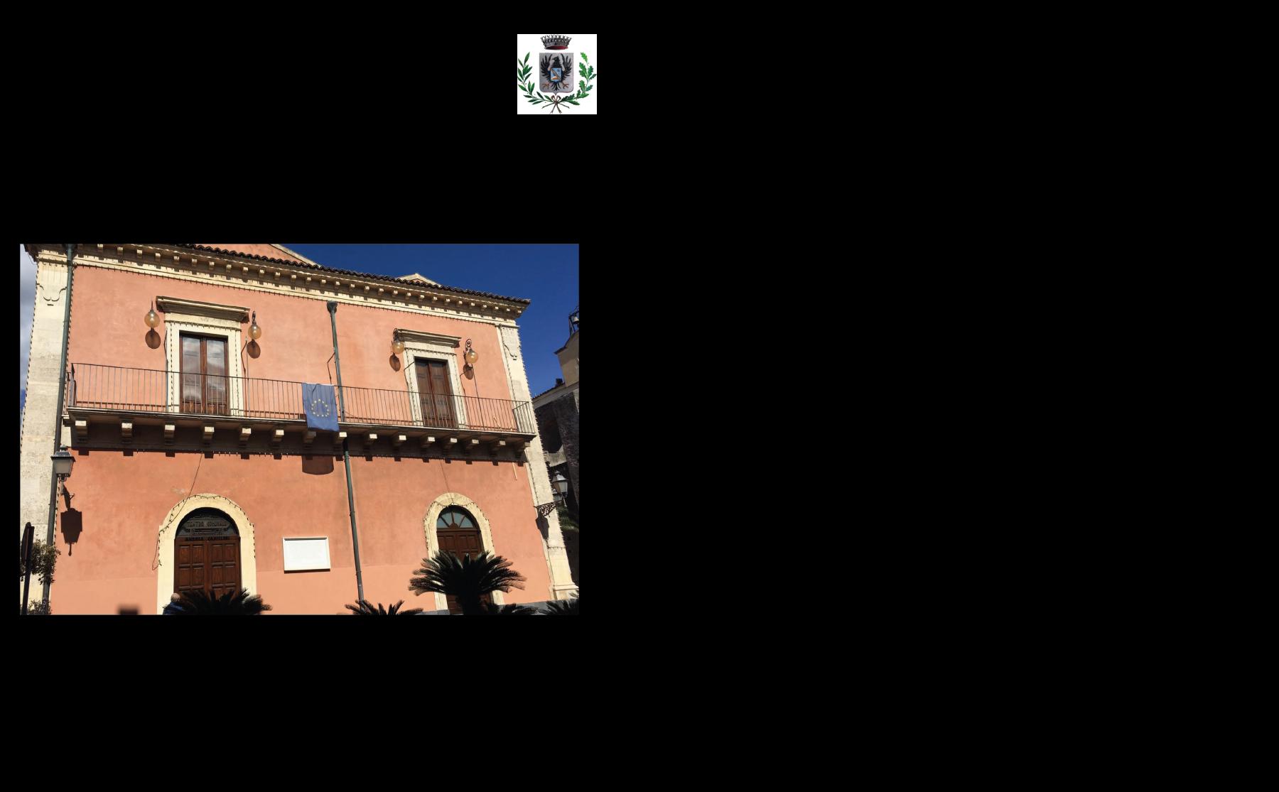 """B.Misterbianco-Palazzo-del-Senato-Teatro-Comunale-""""Andrea-Camilleri""""-Aula-Consiliare"""