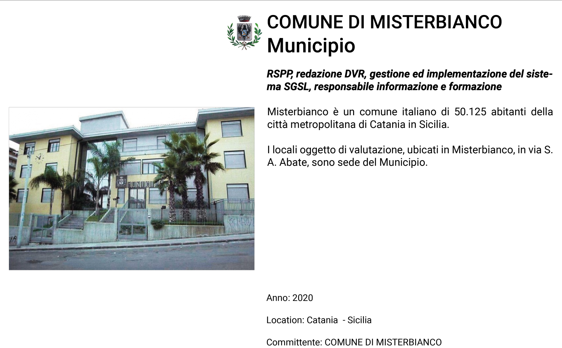 D.Misterbianco-Municipio