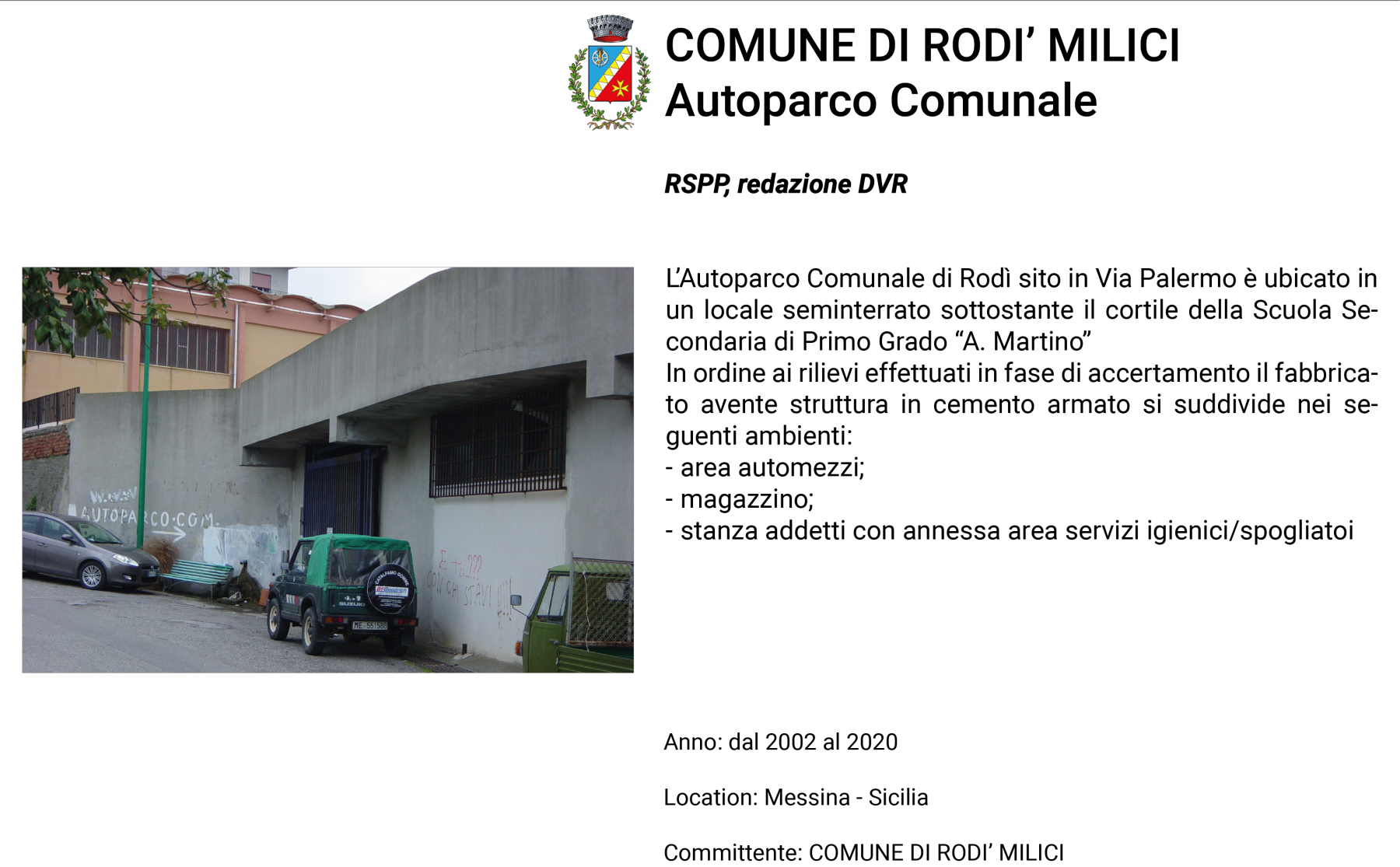 F.Rodì-Milici-Autoparco-Comunale